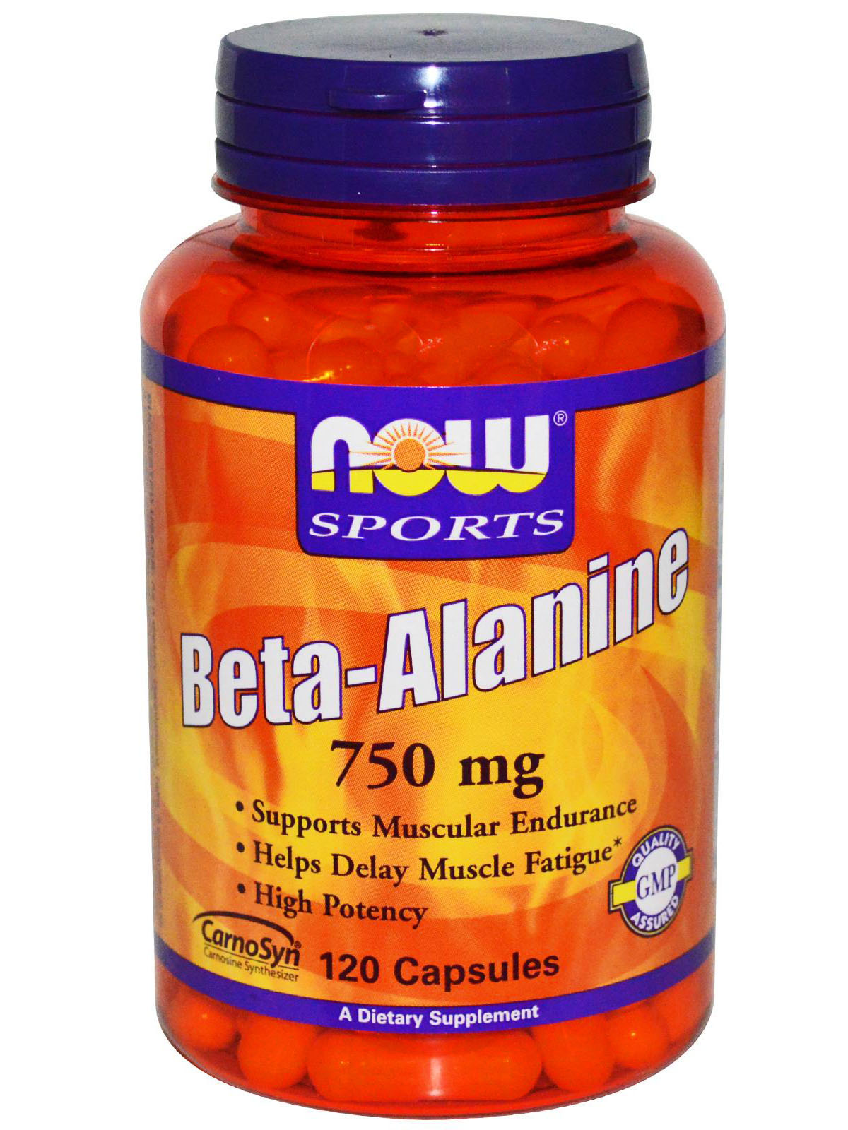 NOW Beta-Alanine 750mg (120 капс)