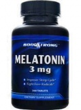 Body Strong Melatonin 3mg (180 табл)