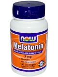 NOW Melatonin 3 mg (180 капс)