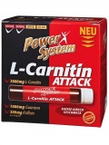 Power System L-Carnitin Attack 3600mg в ампулах (20х25мл)