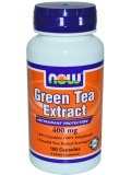 NOW Green Tea Extract 400 mg 60% (100 капс)