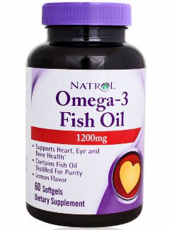 Natrol Omega-3 Fish Oil (60 капс)