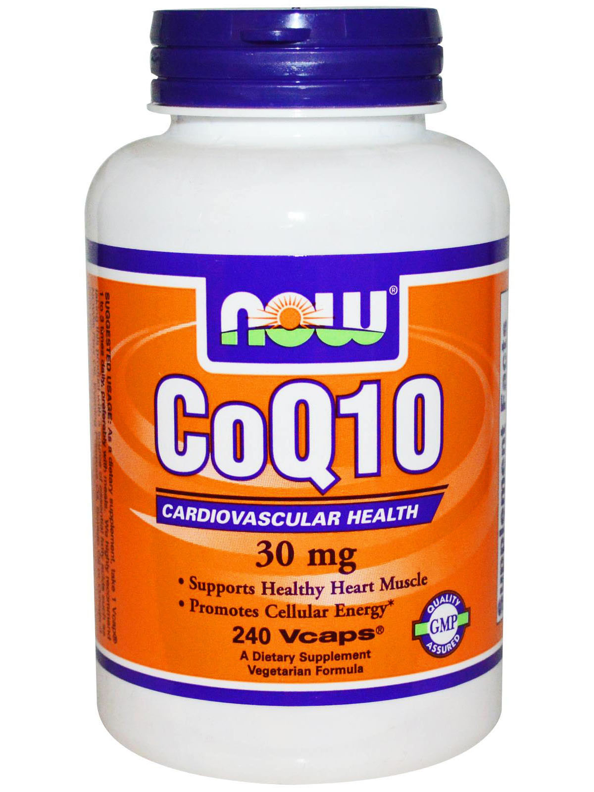 NOW CoQ10 30mg (240 капс)