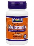 NOW Melatonin 5 mg (60 капс)