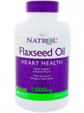Natrol Flax Seed Oil 1000mg (200 капс)