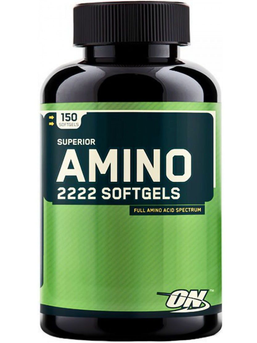 Optimum Nutrition Superior Amino 2222 Softgels (150 капс)