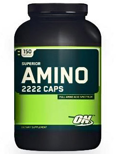 Optimum Nutrition Superior Amino 2222 Caps (150 капс)