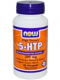 NOW 5-HTP 200mg (60 капс)