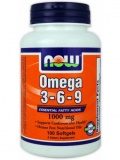 NOW Omega 3-6-9 (100 капс)