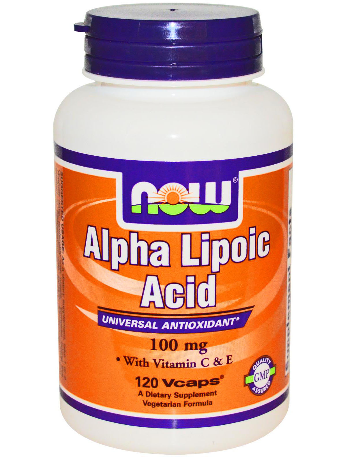 NOW Alpha-Lipoic Acid 100mg (120 капс)