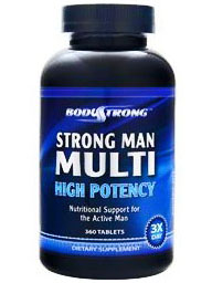 Body Strong Strong Man Multi High Potency (90 табл)