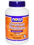 NOW Chromium Picolinate 200 мкг (250 капс)