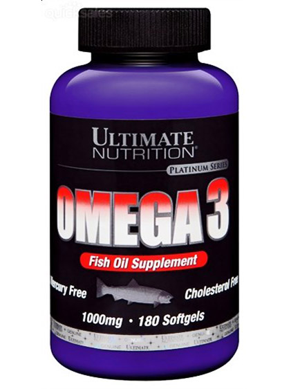 Ultimate Omega 3 1000mg (180 капс)