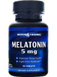 Body Strong Melatonin 5mg (90 табл)