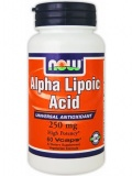 NOW Alpha-Lipoic Acid 250mg (60 капс)