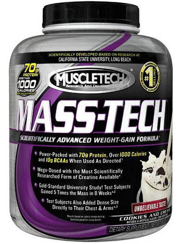 MuscleTech Mass-Tech (3,2 кг)