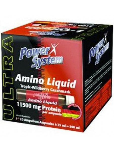 Power System Amino Liquid в ампулах (20х25мл)