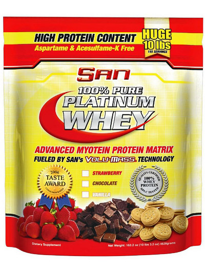 SAN Pure Platinum Whey (4628 г)