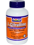 NOW L-Citrulline Pure Powder (113 г)