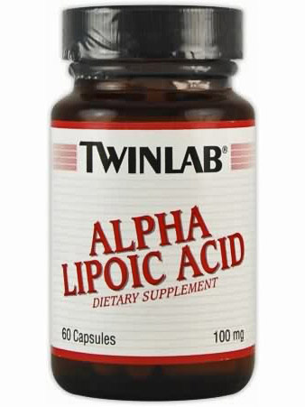 Twinlab Alpha Lipoic Acid 100mg (60 капс)