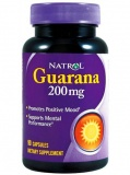 Natrol Guarana 200 мг (90 капс)