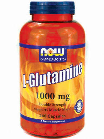 NOW L-Glutamine 1000mg (240 капс)