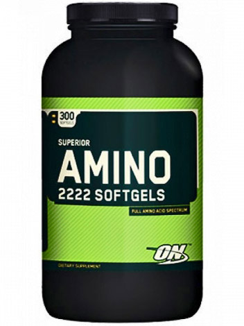 Optimum Nutrition Superior Amino 2222 Softgels (300 капс)